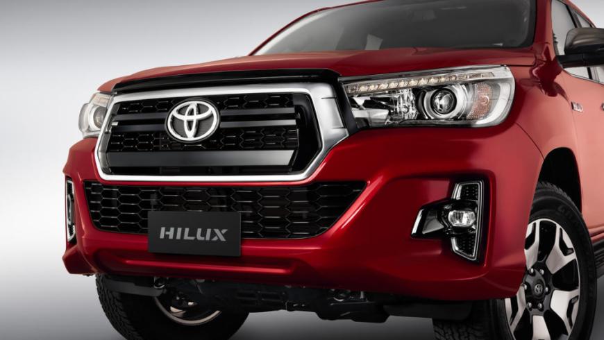 Toyota Hilux 2019 Preço, ficha e consumo frente
