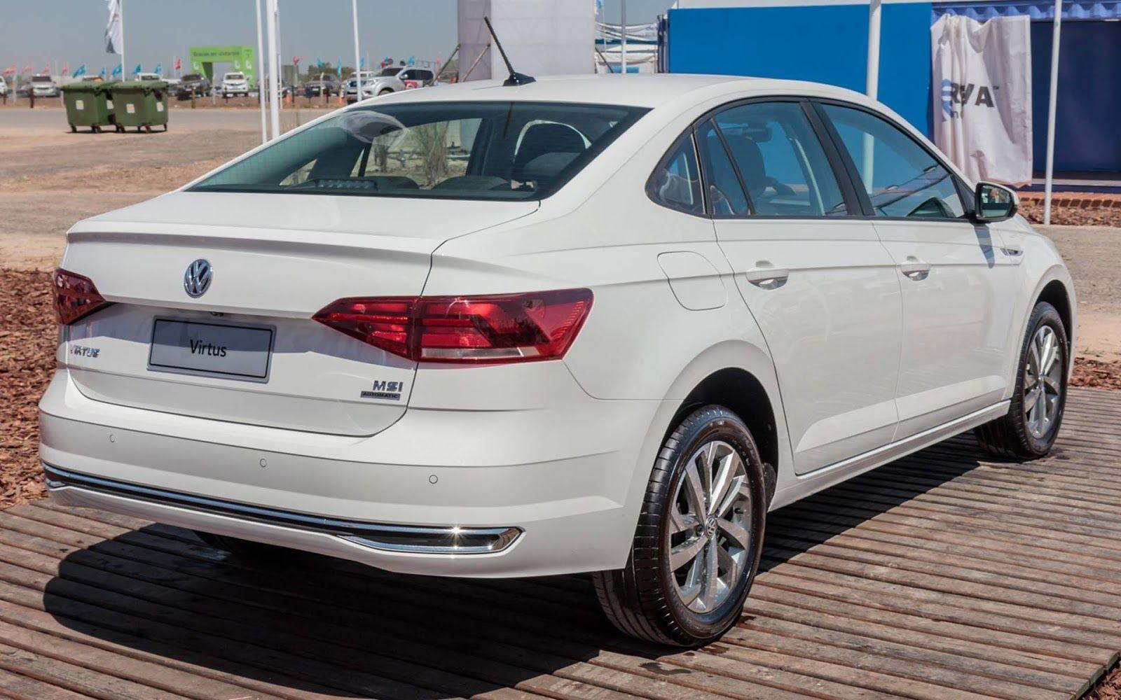 Volkswagen Virtus é eleito o carro do ano 2019