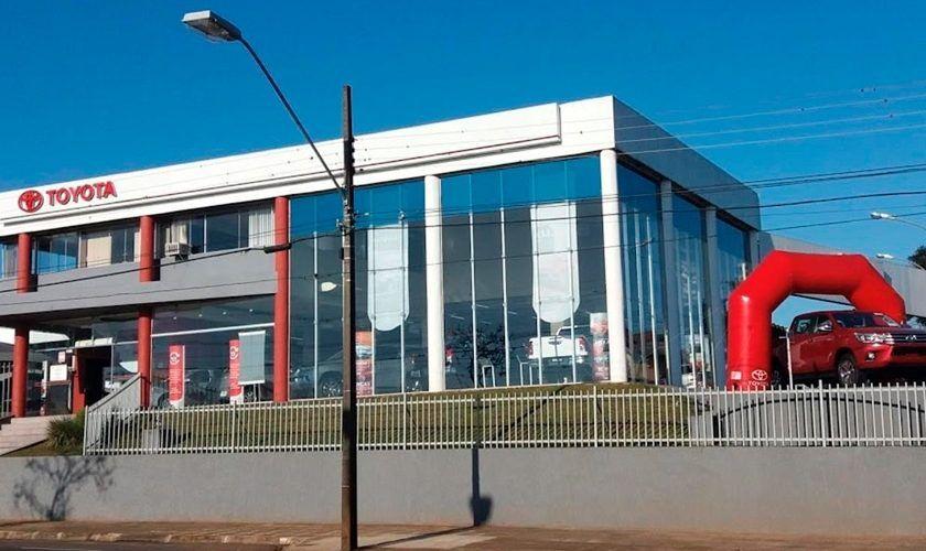 Concessionárias Toyota na região Norte