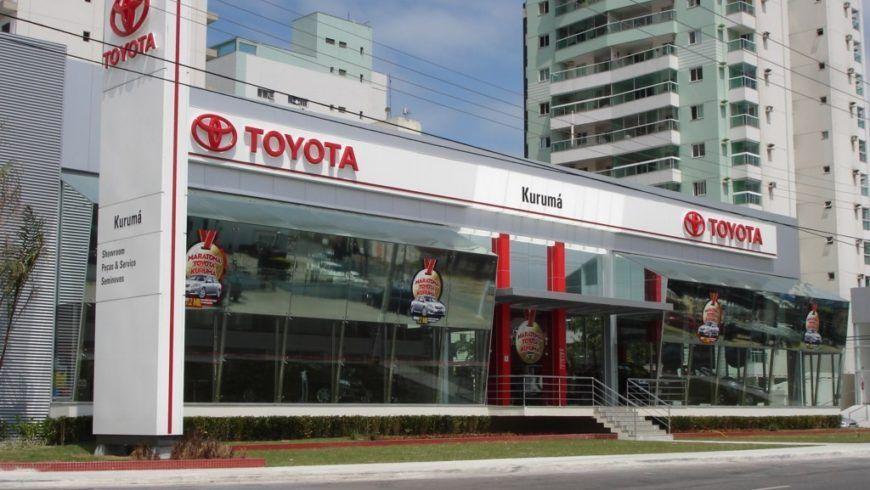 Concessionárias Toyota na região Sudeste