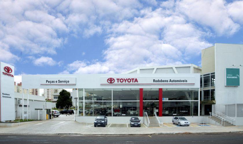 Concessionárias Toyota na região Sul