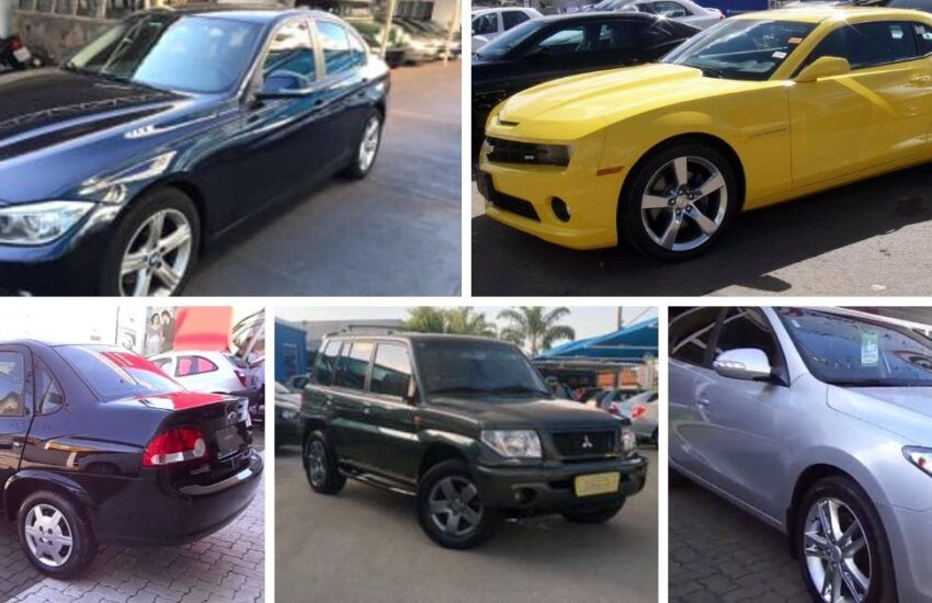 Leilão do TJ:Camaro amarelo e BMW são destaques