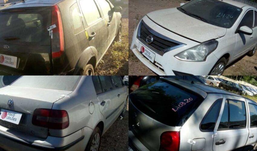 Leilão online tem +400 veículos com preço muito baixos