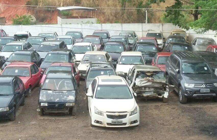 leilão carros detran